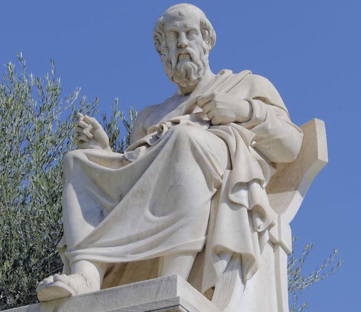 Plato en olijfolie