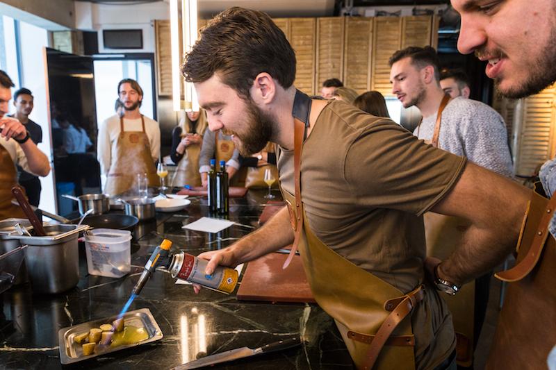 Hert-met-olijfolie