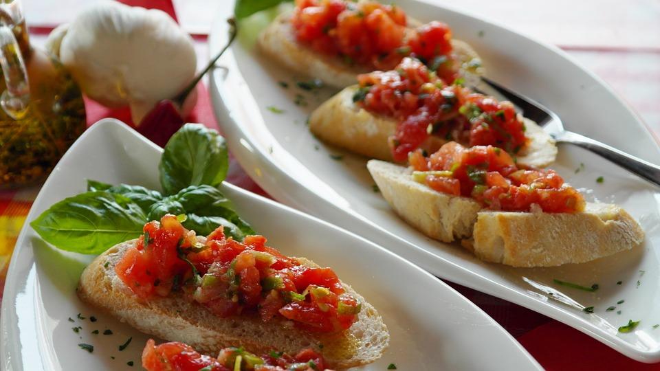 makkelijke recepten bruschetta