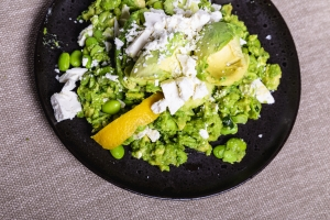 Avocado en Tuinboon salade 4