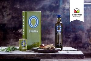 Gkazas Olijfolie bemachtigt Thuiswinkel Waarborg 5