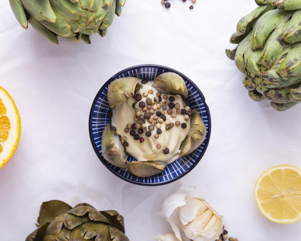 Makkelijk recept: gekookte artisjokken met aioli 1
