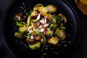 Makkelijk recept - Gkazas - Geblakerde spruitjes